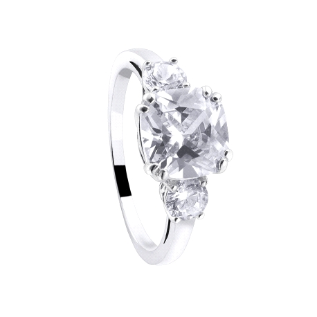 ANILLO DURAN MEGHAN PRETTY JEWELS PLATA